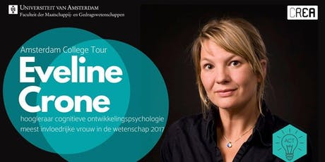 Eveline Crone bij Amsterdam College Tour tickets