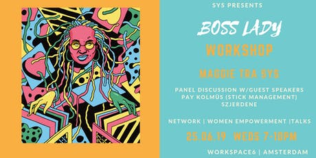 SYS Boss Lady Workshop Amsterdam tickets