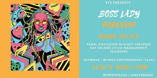 SYS Boss Lady Workshop Amsterdam