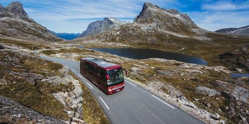 Bus from Voss to Bergen & Bergen Airport - SX19 Transportation