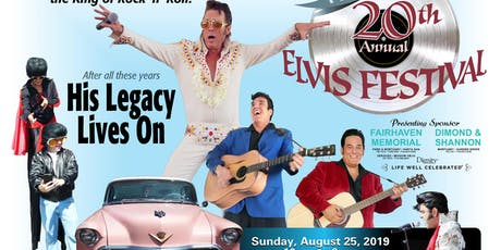20th Annual Elvis Festival tickets