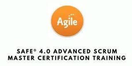 SAFe® 4.6 Advanced Scrum Master with SASM Certification 2 Days Training in Brisbane tickets
