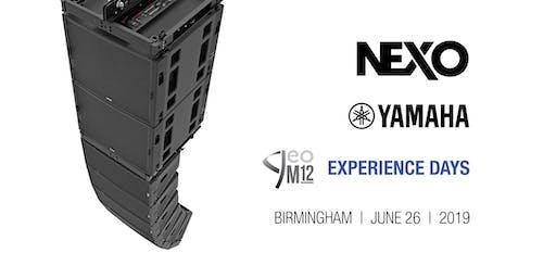 NEXO GEO M12 Experience Day, Birmingham