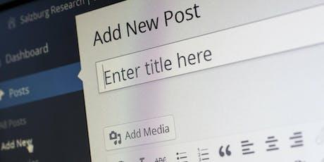 Faster Business - Website Building Essentials tickets