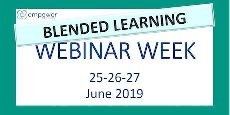 Blended Learning Webinar Week tickets