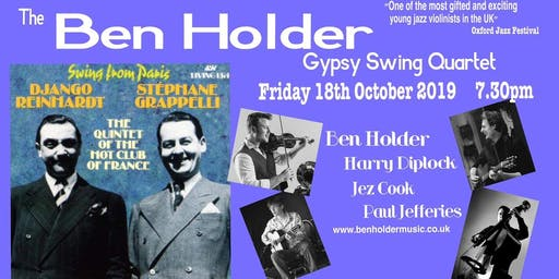 The Ben Holder Gypsy Swing Quartet at Reigate Park Church