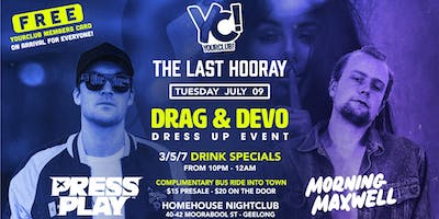 YC presents The Last Hooray - Drag & Devo