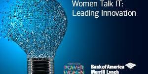 Women Talk IT: Leading Innovation 2019