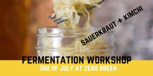 Introduction to Fermentation! Kimchi + Sauerkraut