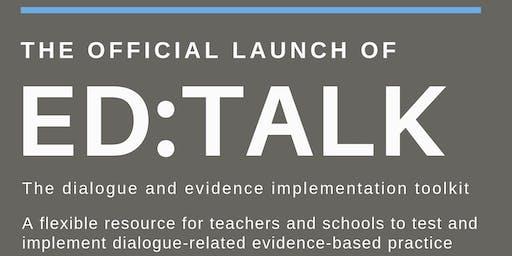 ED:TALK Toolkit Launch