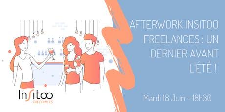 Afterwork Insitoo Freelances : un dernier avant l'été ! billets