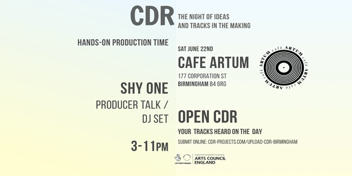 CDR with Shy One at Cafe Artum