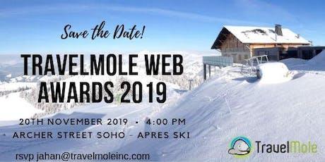TravelMole Web Awards 2019 tickets