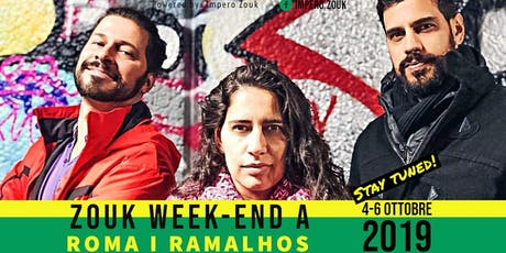 Zouk Weekend in Rome with the Ramalhos biglietti