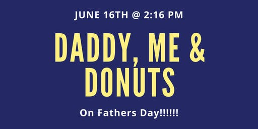 Daddy, Me & Donuts (A Creative Fathers Day Paint Class)