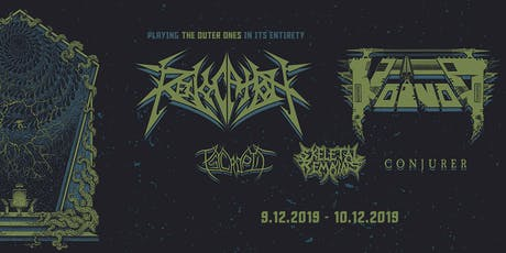 REVOCATION & VOIVOD with PSYCROPTIC, SKELETAL REMAINS & CONJURER tickets