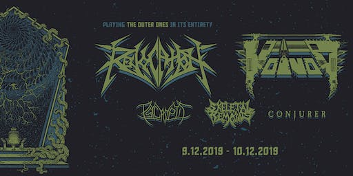 REVOCATION & VOIVOD with PSYCROPTIC, SKELETAL REMAINS & CONJURER