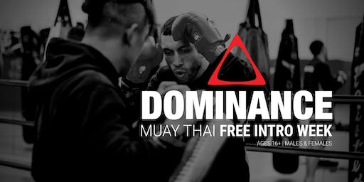 **SOLD OUT** Muay Thai FREE INTRO WEEK June | Dominance MMA Bentleigh