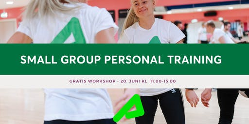 Gratis workshop: Small Group Personal Training