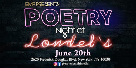 Poetry Night at Londel's tickets