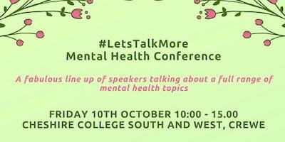 #LetsTalkMore Mental Health Conference