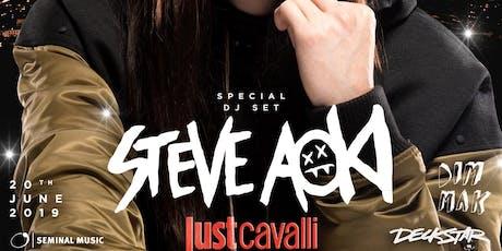 Steve Aoki - Just Cavalli | 20 Giugno biglietti