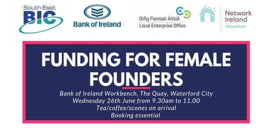 FUNDING FOR FEMALE FOUNDERS