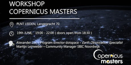 Copernicus Masters workshop tickets