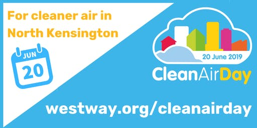 National Clean Air Day in North Kensington