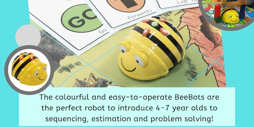 Treasure Map BeeBot Workshop - Coding for kids! (Age 4-7, Mandurah)