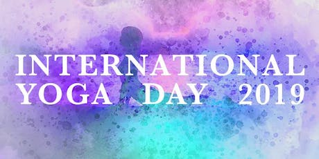 International Yoga Day 2019 tickets
