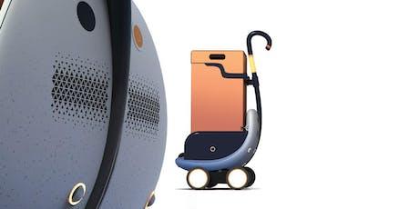 Présentation du 1er robot de transport autonome qui gravit les marches. billets