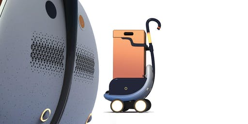 Présentation du 1er robot de transport autonome qui gravit les marches.