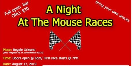 Mouse Race Benefitting Responder Rescue tickets