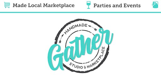SMS Sacramento, Mom's Night Out at Gather Studio & Marketplace