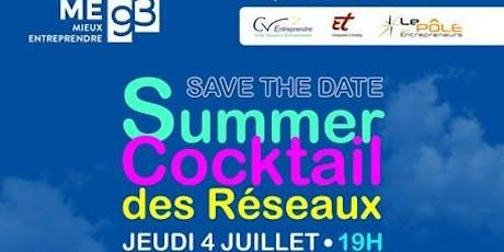 Summer Cocktail des Réseaux billets