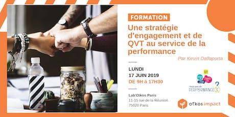 Une stratégie d'engagement et de QVT  au service de la performance tickets