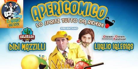 APERICOMICO IN COTICA- LO SPRITZ TUTTO DA RIDERE - secondo appuntamento biglietti