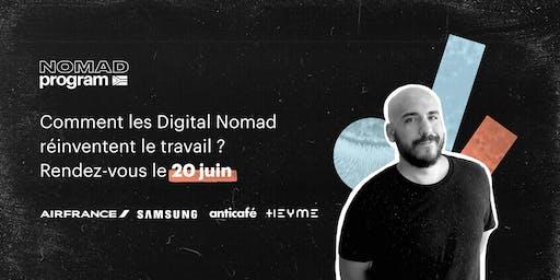 Évènement conférence - Comment les digital nomad réinventent le travail ?