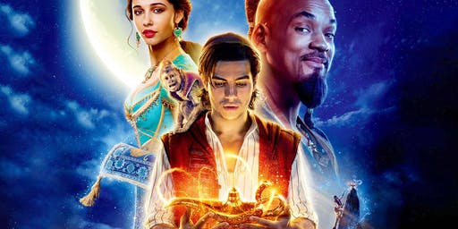 Movie: Aladdin at ShowPlace ICON at Roosevelt Collection in Chicago
