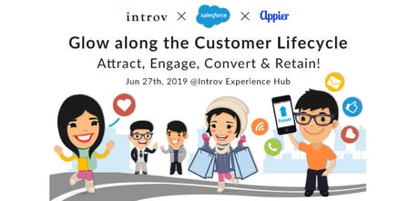 Glow along the Customer Lifecycle: Attract, Engage, Convert and Retain tickets