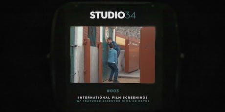 Studio34 presents   International Film Screenings 002   To Be a Torero tickets