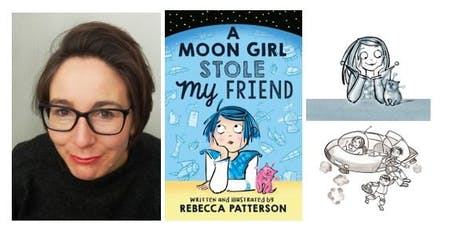 Meet the author: Rebecca Patterson tickets