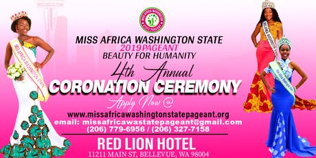 Miss Africa Washington State Pageant: 4th Annual Coronation Ceremony tickets