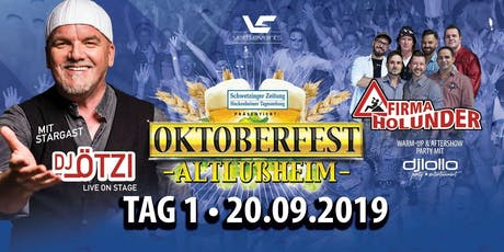 Oktoberfest Altlußheim mit DJ Ötzi Tickets