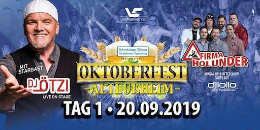 Oktoberfest Altlußheim mit DJ Ötzi