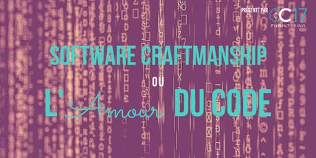 Software CraftmanShip ou l'Amour du code billets