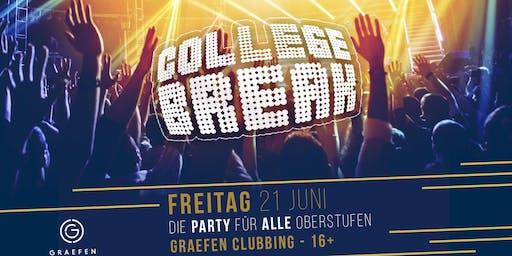 COLLEGE BREAK - Die Party für alle Schüler und Studenten | 16+