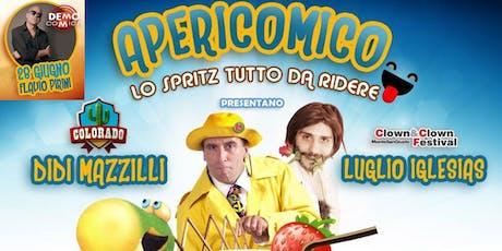 APERICOMICO IN COTICA- LO SPRITZ TUTTO DA RIDERE - serata finale biglietti