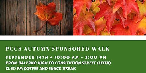 Autumn Sponsored Walk